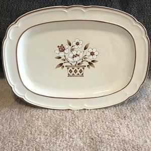 Cumberland MAYBLOSSOM Stoneware Serving Plate